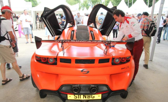 Car manufacturer of Sin Cars, Rosen Daskalov
