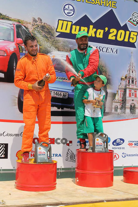 Stefan Stoev – competitor in rally Bulgaria