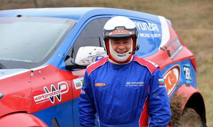 Todor Hristov – competitor in rally DAKAR